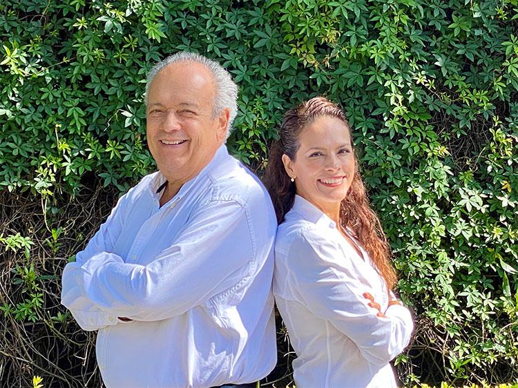 Rodolfo y Roxana Leiton